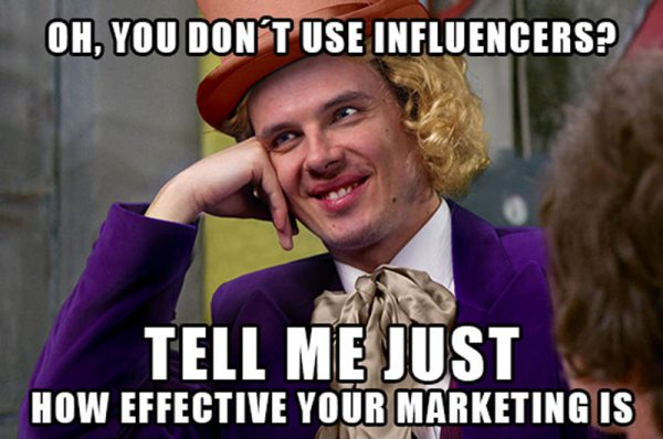 Influencer Marketing Meme